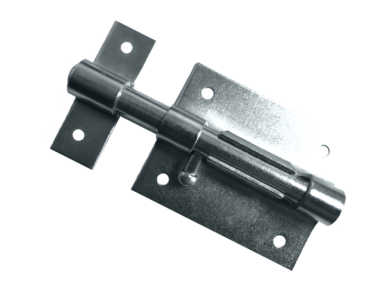 Latch for padlock with hole